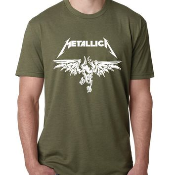 Metallica band Classic Heavy Metal Rock T Shirt 2017 men cotton o-neck Camisetas fashion drake fitness top summer brand clothing