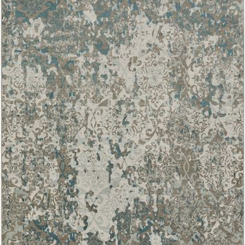 Surya Steinberger Medallions and Damask Neutral SIB-1001 Area Rug