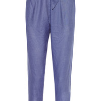 Vivienne Westwood Anglomania - New Kung Fu linen tapered pants