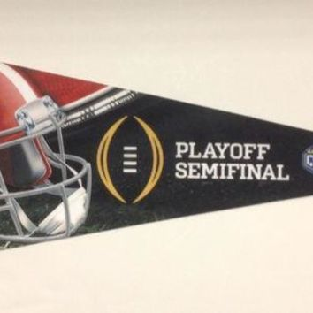ESBON NCAA Alabama Crimson Tide College Football Playoff Cotton Bowl Bound Premium Pennant