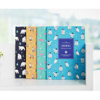 2016 Ardium Animal pattern undated small monthly journal