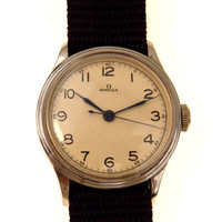 Vintage Military Omega Watch WWII