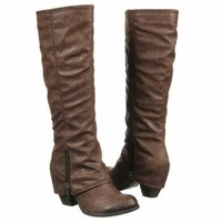 Women's FERGALICIOUS  L-Ryder Brown Tumbled Pu FamousFootwear.com