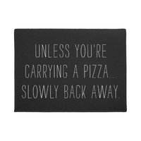 Pizza Lovers Funny Doormat