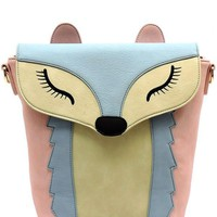 Like A Fox Crossbody Handbag