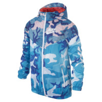 Nike Flight Weight Camo Windrunner Boys' Jacket