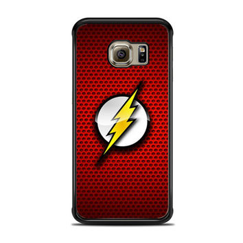 The Flash Red Logo Samsung Galaxy S6 Edge Case