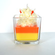Candy Corn Scented Gourmet Jar Candle
