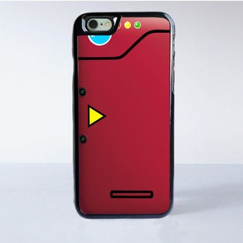 Red Pokedex Pokemon And Sailor Moon iPhone 6 Case