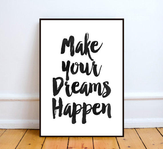 photo relating to Printable Quotes Black and White named Motivational Print Estimate \