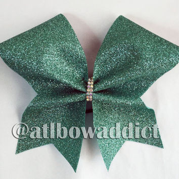 Glitter Cheer Bow - PICK YOUR COLORS!