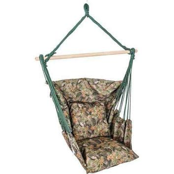 Camouflage Hanging Rope Chair