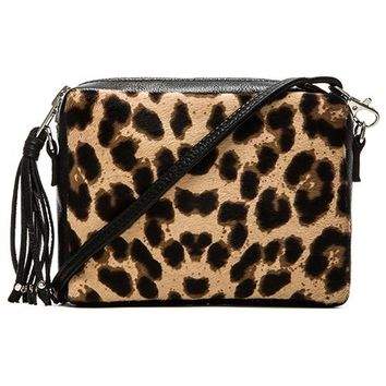 Simone Camille Bowie Crossbody in Brown