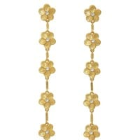 Flower Chain Earrings – For Love & Lemons