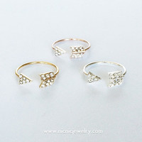 ARROW RINGS - 3 COLORS