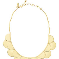 Kate Spade Sweetheart Scallops Necklace Gold ONE