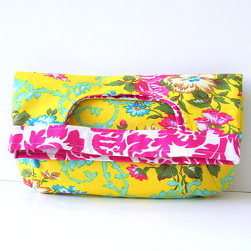 west indies foldover clutch by SassyStitchesbyLori on Etsy