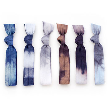 cloudburst hair ties
