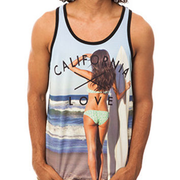 CALIFORNIA LOVE MESH TANK