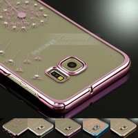 Slim Crystal Dandelion Transparent Hard Case For Samsung Galaxy Note 5/ S7 Edge+