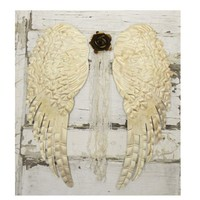 Large Individual Angel Wings - Colorful Cast and Crew