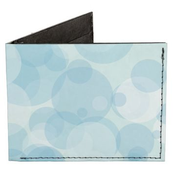 Blue Bubbles Billfold Wallet