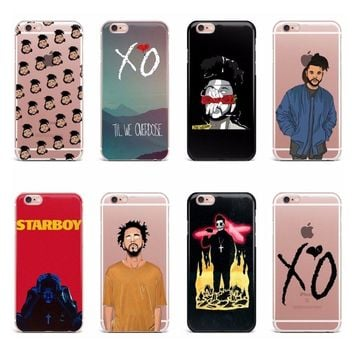 Cases iPhone 5/5S/SE 6/6S 6+/6S+ 7/7+ 8/8+ X/10 The Weeknd Starboy Abel Tesfaye