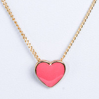 Piace Boutique - Heart Necklace in Pre-Order