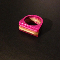 Recycled Skateboard Ring - Size 5
