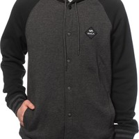 RVCA Mele Snap Button Hoodie