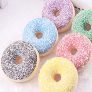 Assorted 5 Pack imitation donuts fake donut Photo Prop - PRDN07