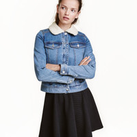 H&M Pile-lined Denim Jacket $69.99