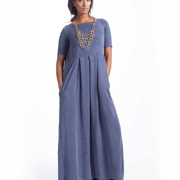 Arrow Dusty Heather Blue Maxi Dress