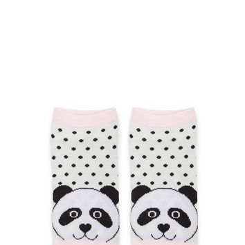 Panda Bear Graphic Ankle Socks