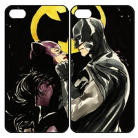 Catwoman and Batman Couple Samsung Galaxy S3 S4 S5 Note 3 4 , iPhone 4 4S 5 5s 5c 6 Plus , iPod Touch 4 5 , HTC One M7 M8 ,LG G2 G3 Couple Case