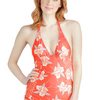 Catch Me If You Cancún One Piece | Mod Retro Vintage Bathing Suits | ModCloth.com