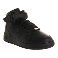Nike Air Force 1 Mid GS Black - Office Girl