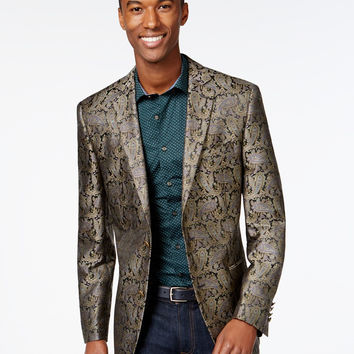 Tallia Big & Tall Paisley Sport Coat