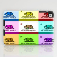California Republic Flag Colorful Design iPad Case by NorCal