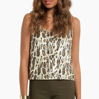 Fancy Cat Top $44
