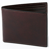 "Bosca ""Continental"" Wallet - Brown"