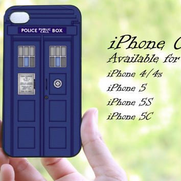 police call box doctor who design 02 iphone case for iphone 4 case, iphone 4s case, iphone 5 case, iphone 5s case, iphone 5c case