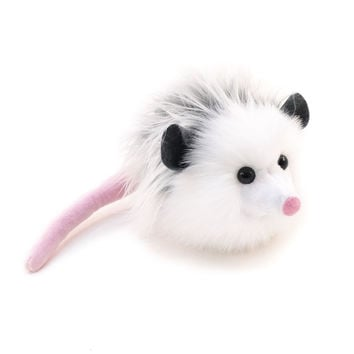 Penelope the Grey Opossum Stuffed Animal Plush Toy