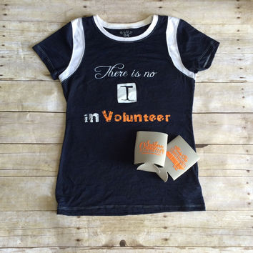 There is no I in Volunteer Burnout Tee