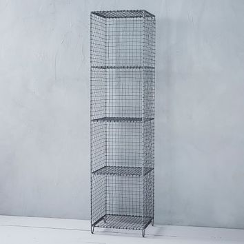 Wire Mesh Storage - Standing Shelving Rack