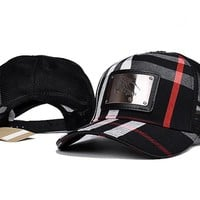 BURBERRY  embroidery Strap Cap Adjustable Golf Snapback Baseball Hat