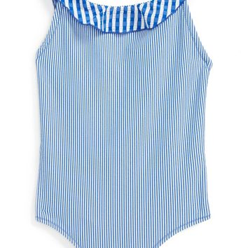 Burberry Sandy One-Piece Swimsuit (Little Girls & Big Girls) | Nordstrom