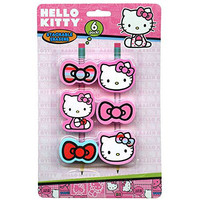 Sanrio Hello Kitty Erasers 6 Pack
