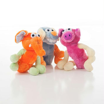 3 Pack of Dog Toys Stuffed Animals
