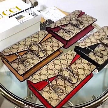 Gucci's latest Nano Dionysu Mini Dionysus Bag Four Color Optional
